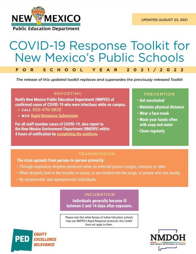 NMPED Covid-19 Response Kit