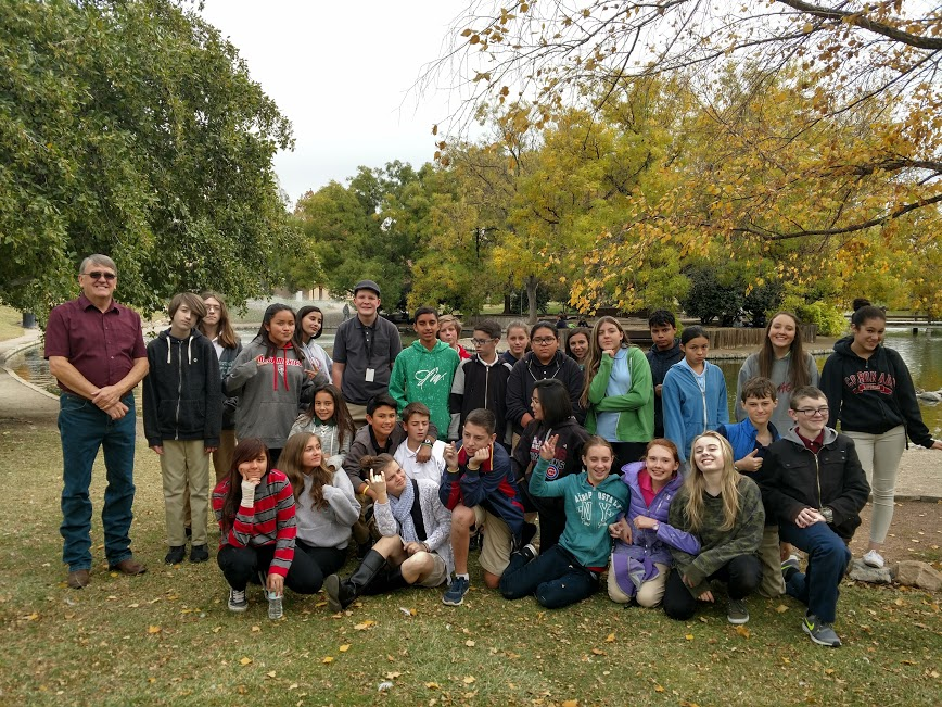 UNM 8th grade fieldtrip on 11/7/17