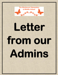 Letter from our Admins- July 28, 2021