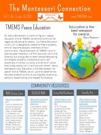 School Newsletter, Vol. 1, No. 3