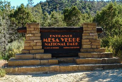 8th grade camping trip to Mesa Verde, CO