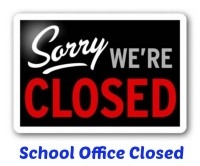 School Office Closed for the Summer 2019!