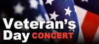 Free Veteran's Day Concert!