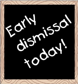 Early Dismissal for the Spring Gala