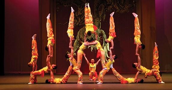 "6th grade fieldtrip to see ""Peking Acrobats"" at Popejoy Hall"