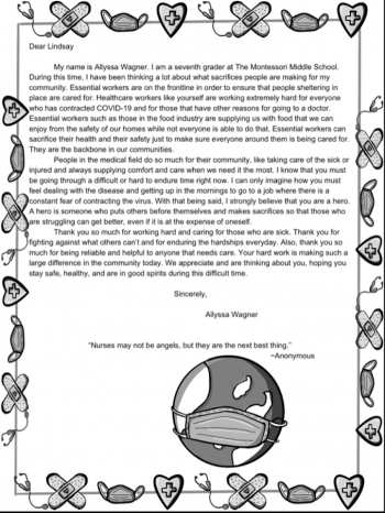 Hero letter 1